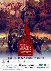 cartel certamen novela histórica
